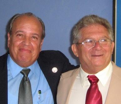Prof. Lázaro Quevedo Guanche and Jorge Abraham Arap