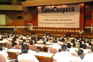 Aniversario 45 de la Cooperación Médica Cubana