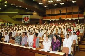 Plenaria en Palacio de las Convenciones