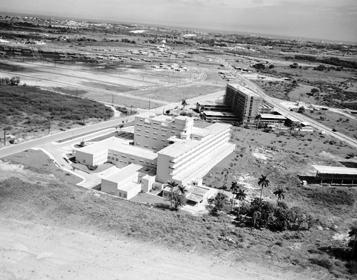Hospital Enrique Cabrra en sus inicios