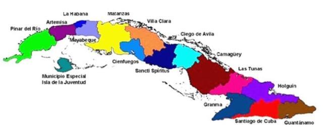 Mapa Bancos de Sangre