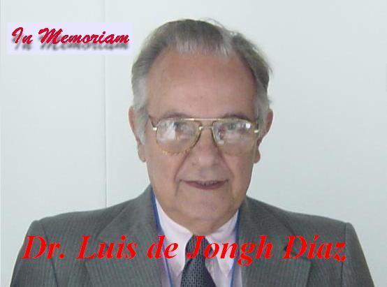 Profesor Luis de Jongh Dáz