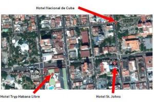 localización de hoteles
