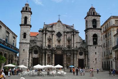 Plaza de la Catedral, La Habana Vieja, Cuba