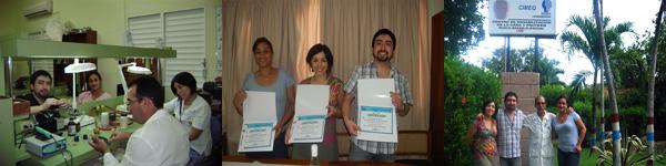 Imágenes del curso post evento 2011